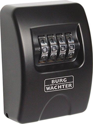 BURGWÄCHTER Schlüsselbox KEY SAFE 10, schwarz KEY SAFE 10