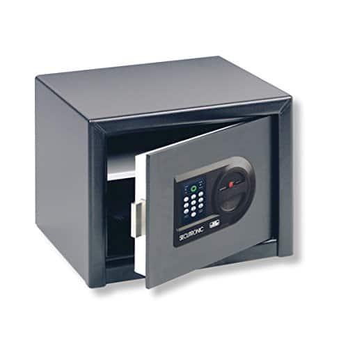 BURG-WÄCHTER Möbeltresor, Elektronisches Zahlenschloss, Sicherheitsstufe A, HomeSafe H 3 E, Schwarz