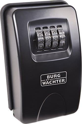 BURGWÄCHTER Schlüsselbox KeySafe 20, schwarz 4003482380000
