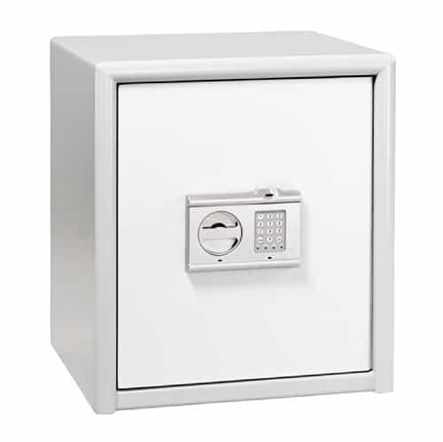 BURG-WÄCHTER Sicherheitsschrank, Elektronisches Zahlenschloss mit Fingerscan, Sicherheitsstufe S, Combi-Line CL 40 E FS